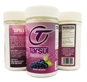 tarsul case 300 gram bottles
